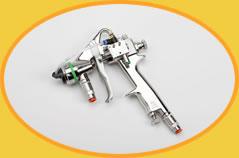 Impianti di spruzzatura per adesivi all'acqua mono e bicomponenti